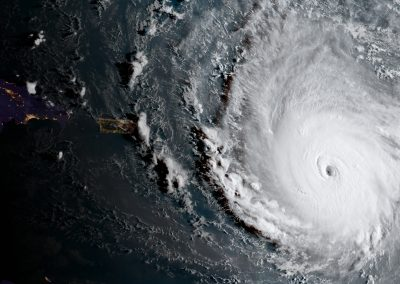 Post-Hurricane Supply Chain Adaptability Study